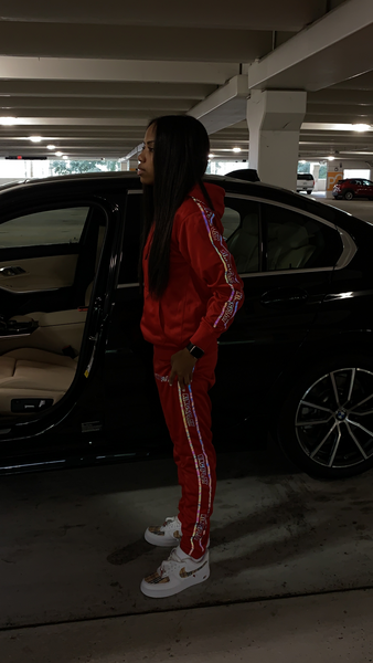 Deluxe Tracksuit RED