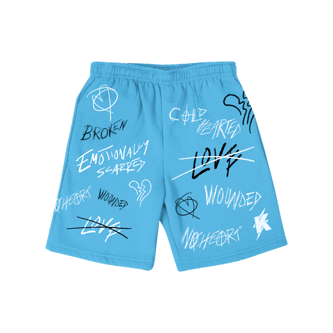 Mood Shorts POWDER BLUE