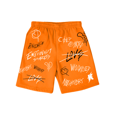 Mood Shorts ORANGE