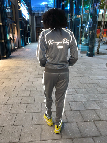 Luminous Tracksuit Grey