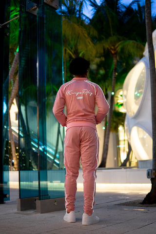 Luminous Tracksuit Pink