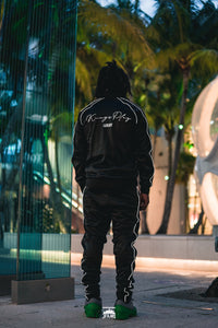 Luminous Tracksuit Black