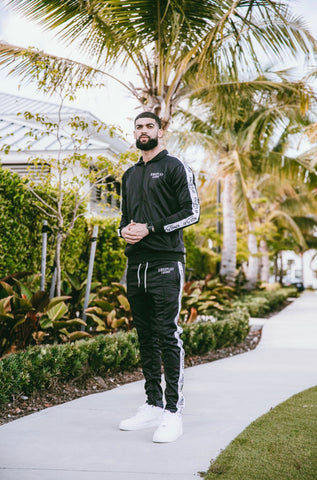 Luxe Tracksuit Black