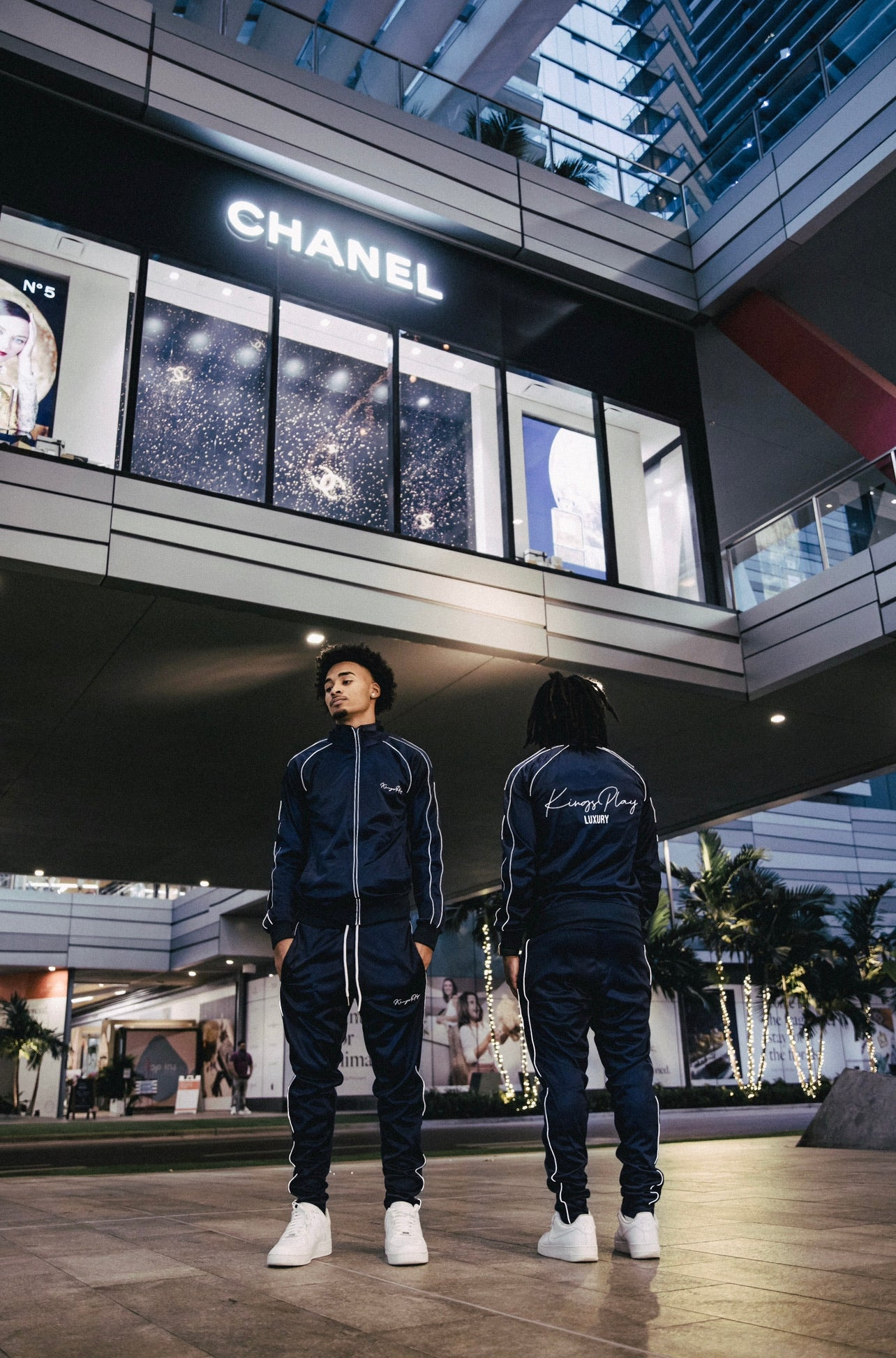 Luminous Tracksuit Navy