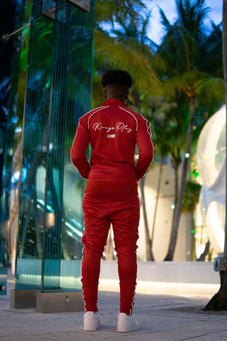 Luminous Tracksuit Red
