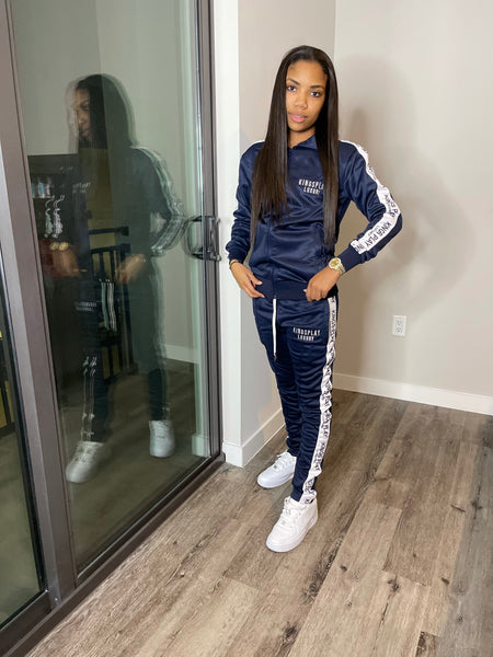 Luxe Tracksuit Navy