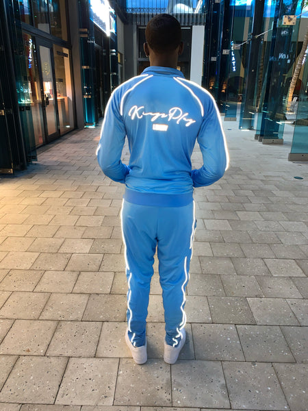Luminous Tracksuit Powder Blue