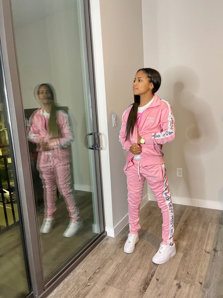 Luxe Tracksuit Pink