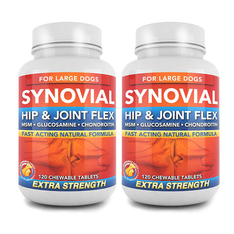 Image of Two Bottles of Synovial | Hip & Joint Flex