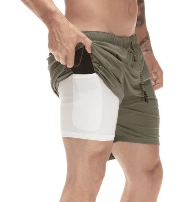 Pioneer 2-In-1 Men's Shorts