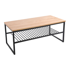 Daly Shelf coffee table, oak veneer