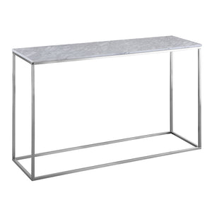 As-Is Ice Console Table, 120x35x76 cm, Display Piece