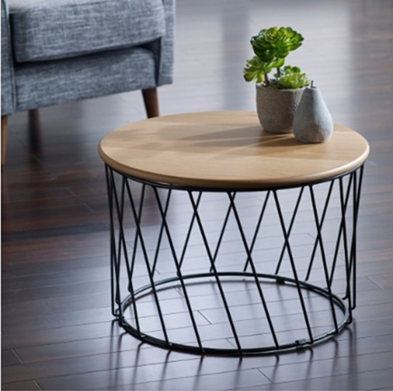 Kose Coffee Table, D60x40 cm