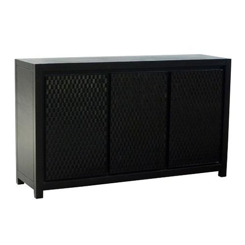 As-is, Moza 3 Doors Sideboard, 152x45xH90 cm, Display piece
