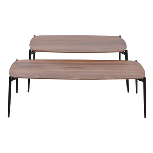 Tyne II coffee table set, 100x60x43 cm, 120x50x36 cm