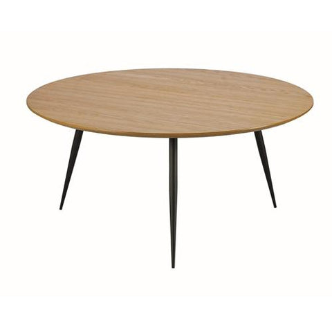 Slaney Coffee Table, D80x40 cm