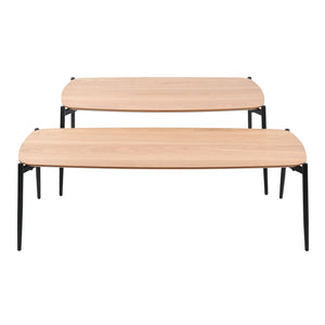 Tyne coffee table set, 100x60x43 cm, 120x50x36 cm