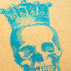 Skull & Crown Scatter Cushion