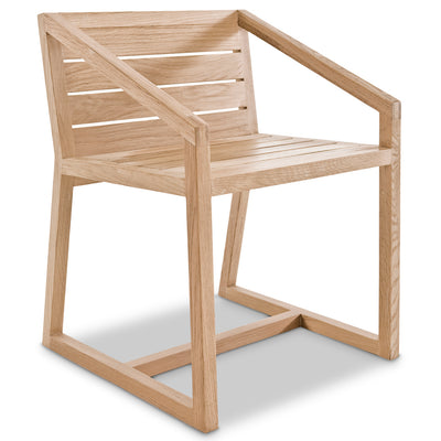 Little Miss Fat Slatted Dining Chair