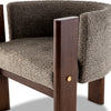 Malta Boucle Dining Chair