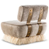 Ostrich Fluff Lounge Chair