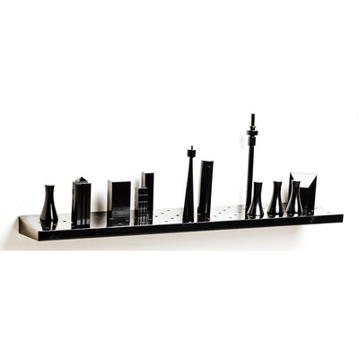 Jozi Black Shelf