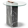 Marble Patch Side Table