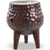 Blessing Pot Belly Side Table