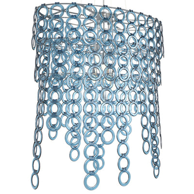 Surilight Oval Chandelier Large Acrylic