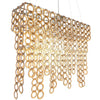 Surilight Rectangle Chandelier Large Acrylic