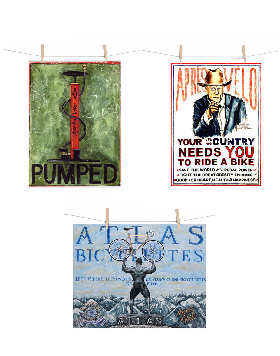 Bicycle Bishops Canvas Print Pack