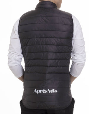 Cycliste Charcoal Puffer Vest
