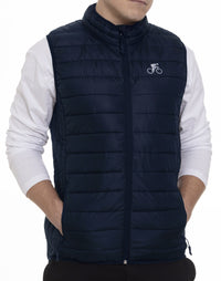 Cycliste Navy Puffer Vest