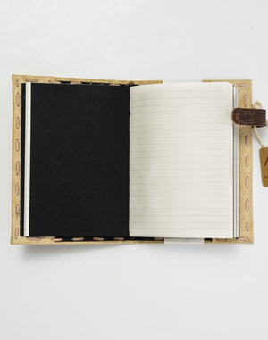 Handmade Canvas Journal