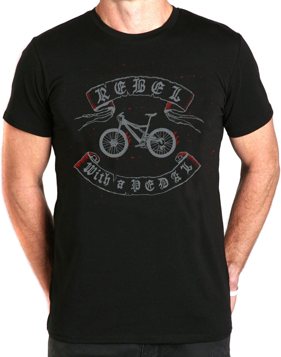 Rebel With a Pedal T-Shirt
