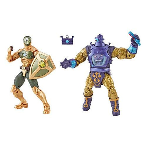 Marvel Legends Arnim Zola & Supreme Captain America Figures