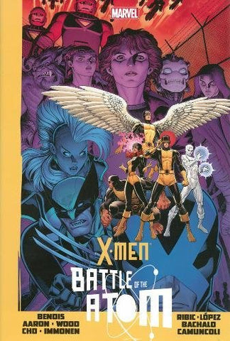 X-Men Battle of the Atom by Bendis, Aaron, Wood, Cho, Immonen, Ribic, Lopez, Bachalo, Camuncoli