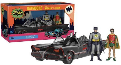 Batman and Robin with 1966 Batmobile Vehicle by Funko