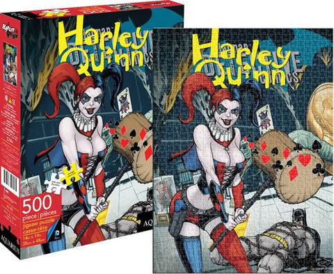 Batman New 52 Harley Quinn New 500-Piece Puzzle