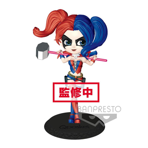 Harley Quinn DC Comics New Q Posket 5.5 Inch Statue