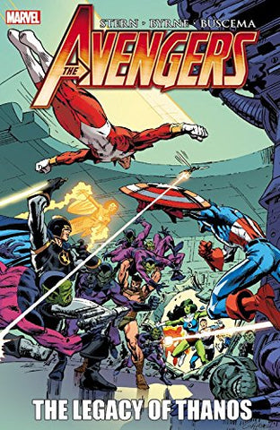 Avengers: The Legacy of Thanos by Stern, Byrne, Buscema