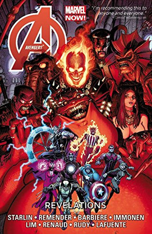 Avengers: Revelations by Starlin, Remender, Barbiere, Immonen, Lim, Renaud, Rudy, Lafuente