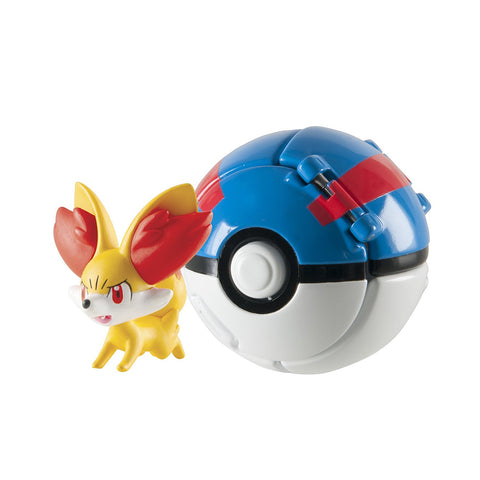 Pokemon Fennekin + Great Ball