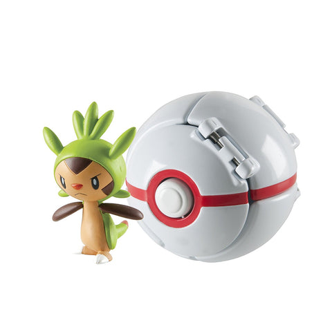Pokemon Chespin + Premier Ball