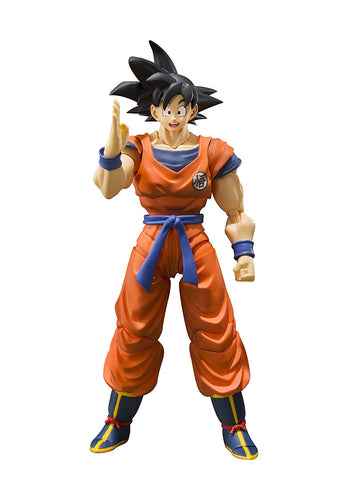 SH Figuarts Son Goku A Saiyan Raised On Earth Dragon Ball