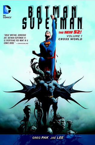 Batman/Superman V1 Cross World by Greg Pak & Jae Lee