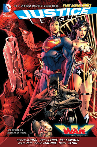 Justice League Trinity War by Johns, Lemire, Fawkes, Reis, Mahnke, Janin