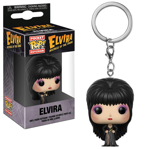 Elvira Pocket Funko Pop! Key Chain