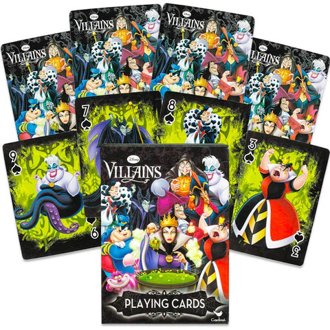 Disney Villians Playing Cards