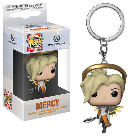 Overwatch Mercy Pocket Funko Pop! Key Chain